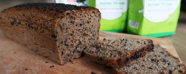 chleb razowy żytnio-orkiszowy