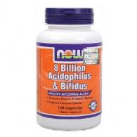 Probiotyki 8 Billion Acidophilus & Bifidus 120kaps.