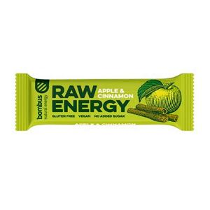 Baton Raw Energy jabłko-cynamon 50g