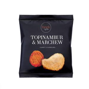 Chipsy Topinambur & Marchew curry& kurkuma 20g